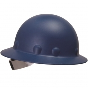 Fibre Metal P1AW Full Brim Roughneck Hard Hat - TabLok Suspension - Blue