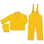 Memphis Limited Flammability Classic 3PC Rain Suit - Yellow