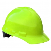 Radians GHP6 Granite Hard Hat - 6-Point Pinlock Suspension - Hi-Viz Green