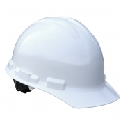 Radians GHR4 Granite Hard Hat - 4-Point Ratchet Suspension - White