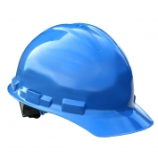 Radians GHR6 Granite Hard Hat - 6-Point Ratchet Suspension - Blue
