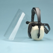 Elvex Ear Muffs with Lexan Face Shield