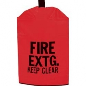 Kidde Heavy-Duty Red Fire Extinguisher Covers