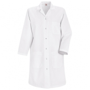 Red Kap Women\\\'s Snap Front Lab Coat