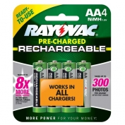 Rayovac Everyday Use Rechargeable AA Batteries