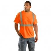 OccuNomix LUX-SSETP2B Class 2 Wicking Birdseye Mesh Safety T-Shirt - Orange