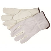 Memphis 32056 Industry Grade Grain Cow Leather Gloves - Split Leather Back