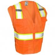 ML Kishigo 1196 Ultra-Cool Mesh 6-Pocket Safety Vest - Orange