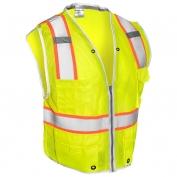 ML Kishigo 1510 Brilliant Series Heavy Duty Safety Vest - Yellow/Lime