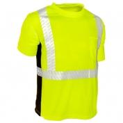 ML Kishigo 9114 Black Series Class 2 T-Shirt - Yellow/Lime