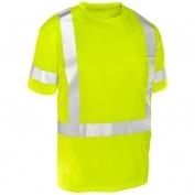 ML Kishigo 9118 Economy Series Class 3 Short Sleeve T-Shirt - Yellow/Lime