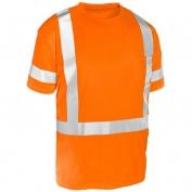 ML Kishigo 9119 Economy Series Class 3 Short Sleeve T-Shirt - Orange