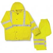 ML Kishigo RW110 Economy Rain Suit - Yellow/Lime