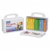 North Safety Unitized  First Aid Kit, 10 Unit, Plastic
