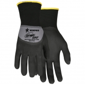 Memphis N96793 Ninja BNF Gloves - 15 Gauge Nylon/Spandex Shell - Breathable Nitrile Foam Coated Palm & Knuckles