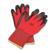 Northflex Red Foamed PVC Palm Coated Gloves