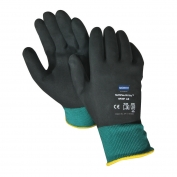 North Safety NF35F Northflex Oil Grip Gloves - Nitrile Coating - Green - Full Hand Dip