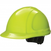 Honeywell N10R440000 North Zone Hard Hat - Ratchet Suspension - Hi-Viz Yellow