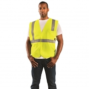 OccuNomix ECO-IS Class 2 Value Solid Safety Vest - Yellow/Lime