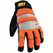OK-1 IG300 Waterproof Winter Glove - Orange