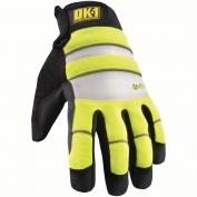 OK-1 IG300 Waterproof Winter Glove - Yellow/Lime