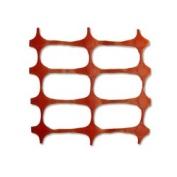Resinet Economy Crowd Control Barrier Fence - Orange- 4 ft x 300 ft