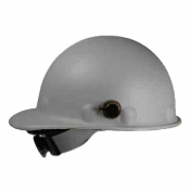 Fibre Metal P2AQRW Roughneck Hard Hat - Quick-Lok - Ratchet Suspension - Gray