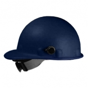 Fibre Metal P2AQRW Roughneck Hard Hat - Quick-Lok - Ratchet Suspension - Blue