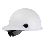 Fibre Metal P2AQSW Roughneck Hard Hat - Quick-Lok - SwingStrap Suspension - White