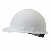 Fibre Metal P2ARW Roughneck Hard Hat - Ratchet Suspension - White