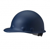 Fibre Metal P2ARW Roughneck Hard Hat - Ratchet Suspension - Blue