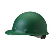 Fibre Metal P2ARW Roughneck Hard Hat - Ratchet Suspension - Green
