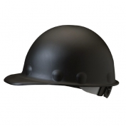 Fibre Metal P2HNRW Roughneck High Heat Hard Hat - Ratchet Suspension - Black