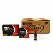 PROCELL AAA Batteries by Duracell, Alkaline, Case 144