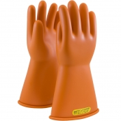 PIP 147-2-14 Novax Class 2 Rubber Insulating Gloves with Straight Cuff - 14\\\