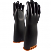 PIP 155-4-18 Novax Class 4 Rubber Insulating Gloves with Straight Cuff - 16\\\