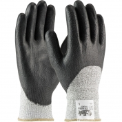 PIP 19-D655 G-Tek CR Ultra Seamless Knit Spun Dyneema/Nylon Gloves - Polyurethane Coated Smooth Grip on Palm, Fingers, & Knuckles