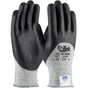 PIP 19-D855 G-Tek CR Ultra Seamless Knit Dyneema/Nylon Gloves - Nitrile Coated Foam Grip on Palm, Fingers, & Knuckles