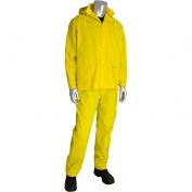 PIP 201-370 Falcon Premium 3-Piece Rainsuit - .35mm Thickness