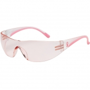 Bouton 250-10-0904 Eva Safety Glasses - Clear/Pink Temples - Pink Lens