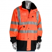 PIP 343-1756 Class 3 7-in-1 All Conditions Winter Coat - Orange