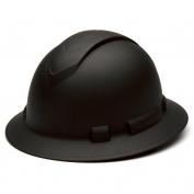 Pyramex HP54117 Ridgeline Full Brim Hard Hat - 4-Point Ratchet Suspension - Graphite Pattern