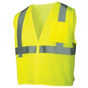 Pyramex RVZ2110 Class 2 Mesh Safety Vest - Yellow/Lime