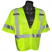 Radians SV3ZGM Economy Mesh Class 3 Safety Vest - Yellow/Lime