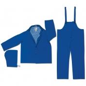 River City 2433 Classic Plus 3-Piece Rain Suit - Blue