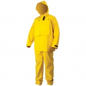 River City FR2603 Hydroblast Limited Flammability Rain Suit - 0.35mm PVC/Polyester