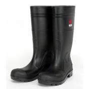 River City PBS120 Steel Toe PVC Rain Boots - Black