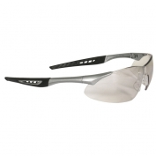 Radians Rock Safety Glasses - Silver Frame - Indoor/Outdoor Mirror Lens