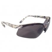 Radians Revelation Shooting Glasses - Camo Frame - Polarized Smoke Lens