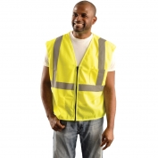 OK-1 S1L Class 2 Classic Mesh Standard Vest - Yellow/Lime